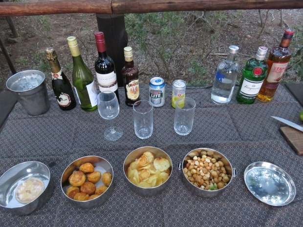 GAME DRIVE: REFRESHMENTS & SNACKS
