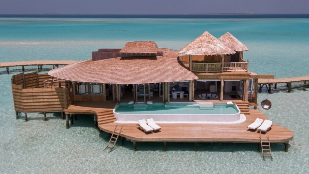 STAYING AT THE MALDIVES MOST EXCLUSIVE HOTEL, SONEVA JANI
