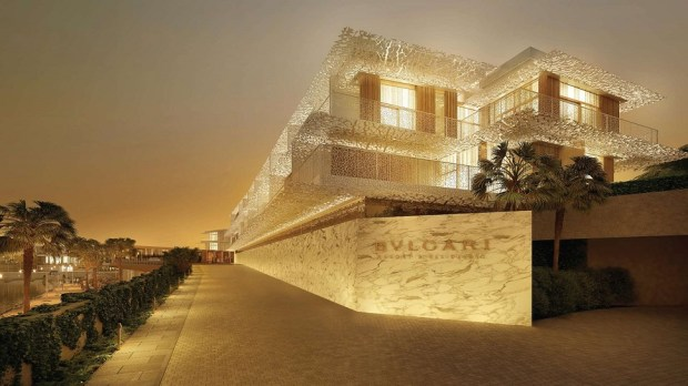 THE BULGARI HOTEL DUBAI, UAE