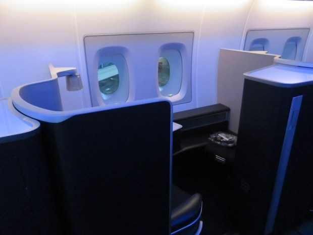 FIRST CLASS SEAT 3A (MOOD LIGHTING)