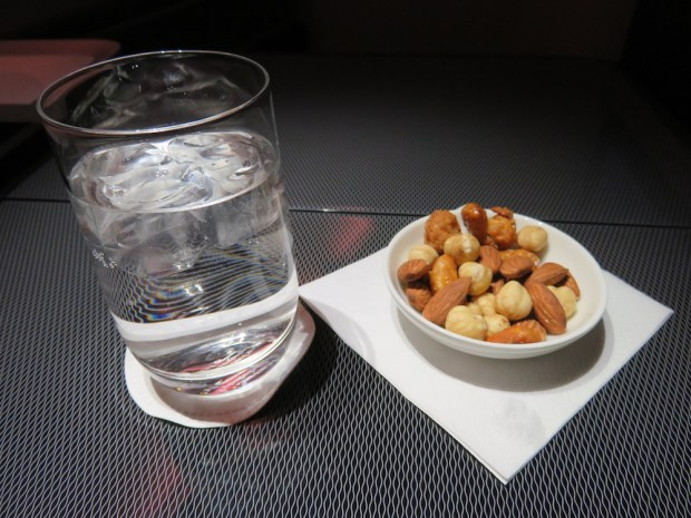 WATER & MIXED NUTS