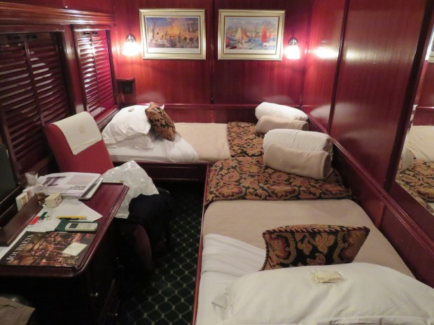 DELUXE SUITE AT NIGHT