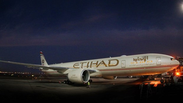 ETIHAD AIRWAYS B777 - ABU DHABI TO LOS ANGELES
