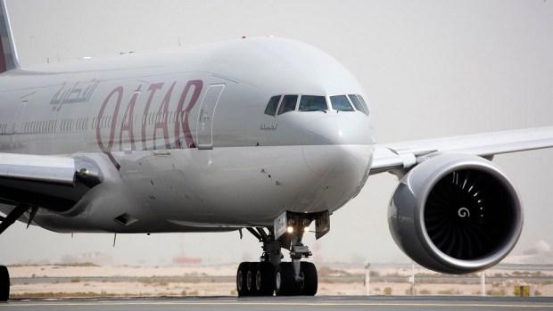 QATAR AIRWAYS B777 - DOHA TO AUCKLAND