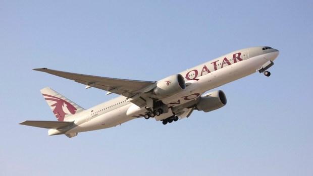QATAR AIRWAYS B777 - DOHA TO LOS ANGELES