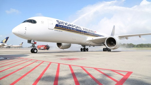 SINGAPORE AIRLINES A350 - SAN FRANCISCO TO SINGAPORE