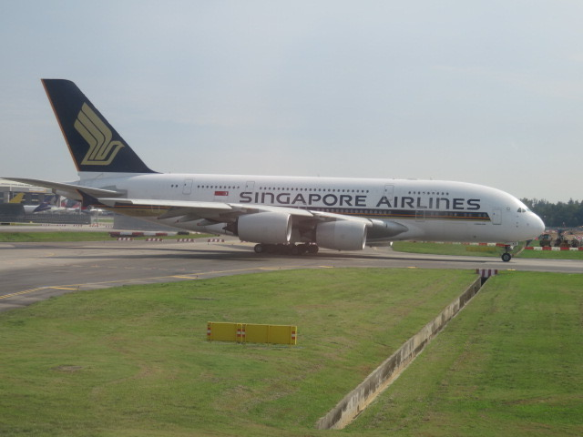 Singapore Airlines A330 Business Class Singapore to Ho Chi Minh City ...