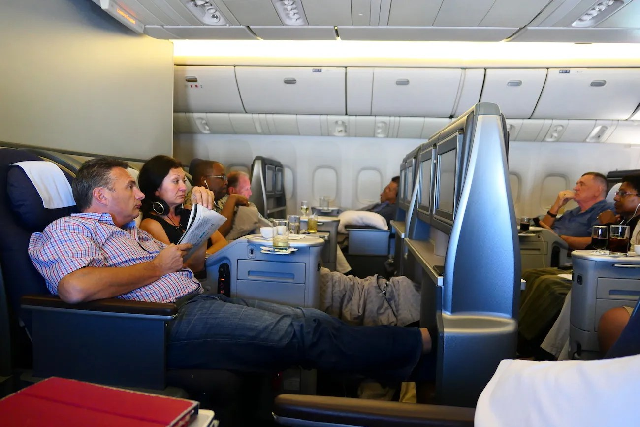 United Airlines B777 domestic First Class San Francisco to Honolulu