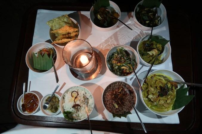 AMANWELLA: DINNER
