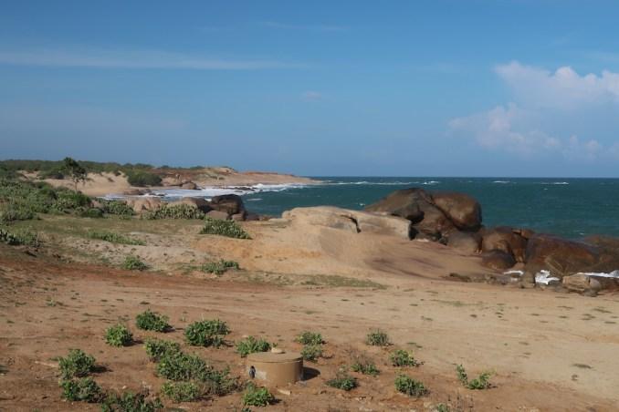 WILD COAST TENTED LODGE: BEACH