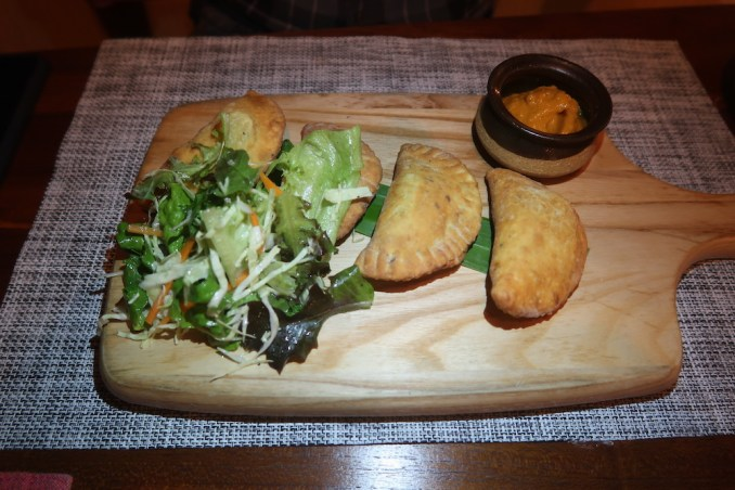 WILD COAST TENTED LODGE: DINNER