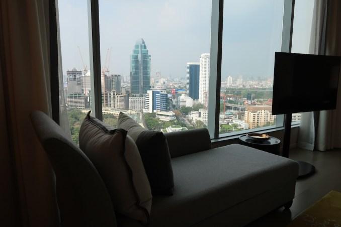 PARK HYATT BANGKOK KING ROOM: BEDROOM