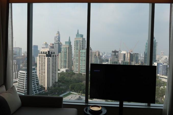 PARK HYATT BANGKOK KING ROOM: VIEWS
