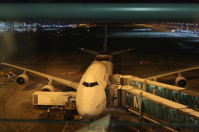 THAI BOEING 747-400 AT MUNICH AIRPORT