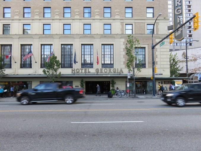 ROSEWOOD HOTEL GEORGIA: EXTERIOR