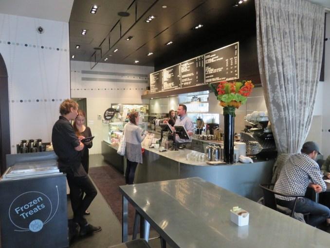 ROSEWOOD HOTEL GEORGIA: BEL CAFE