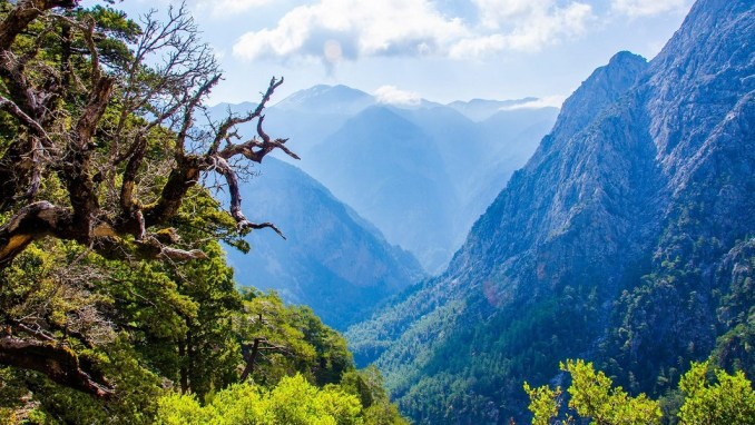 HIKE THE MIGHTY SAMARIA GORGE IN CRETE