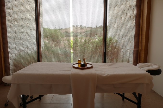 AMANZOE BEACH CLUB: SPA ROOM