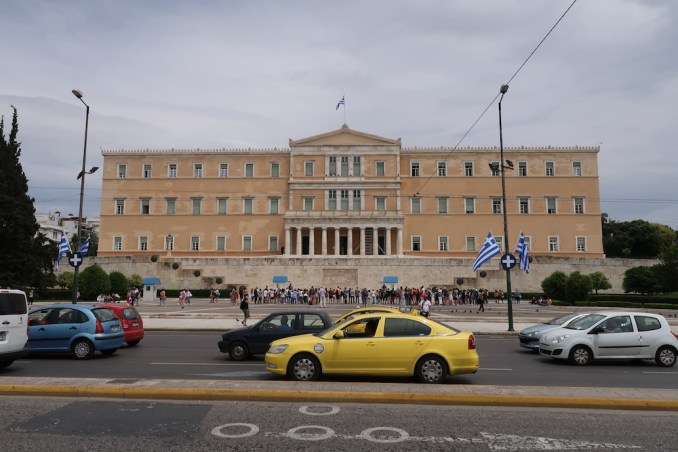 GREEK PARLIAMENT (IN FRONT OF HOTEL)