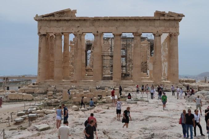 ACROPOLIS: PARTHENON TEMPLE