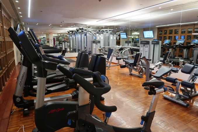 HOTEL GRANDE BRETAGNE: SPA - GYM