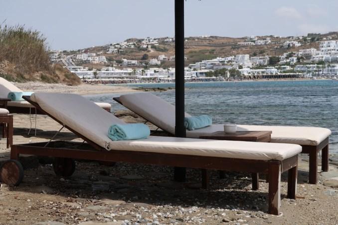 KIVOTOS MYKONOS: PRIVATE BEACH