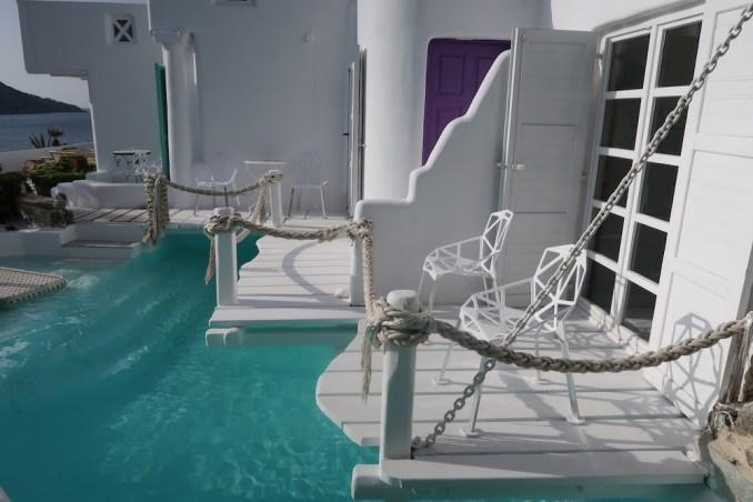 KIVOTOS MYKONOS: JUNIOR SUITE SEA VIEW - TERRACE