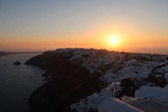 OIA SANTORINI: SUNSET