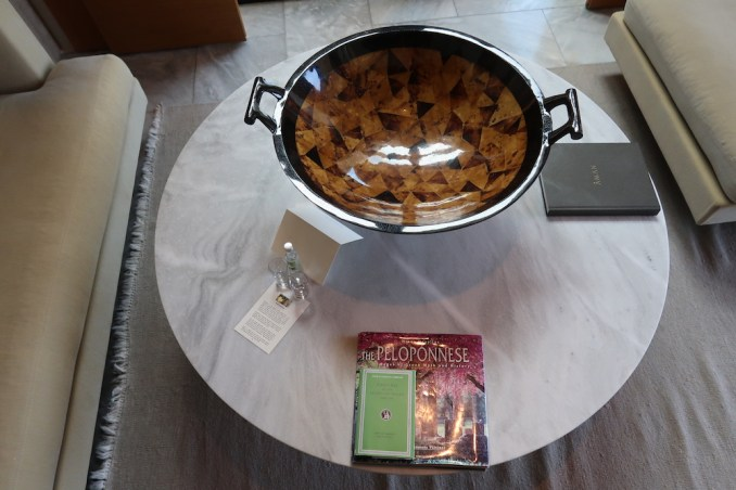 AMANZOE POOL PAVILION: WELCOME GIFT
