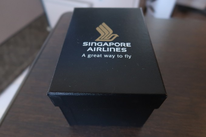 SINGAPORE AIRLINES A380 FIRST CLASS - GIFT
