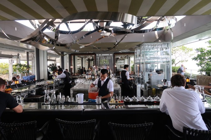 MARINA BAY SANDS: SANDS SKYPARK - SPAGO BAR