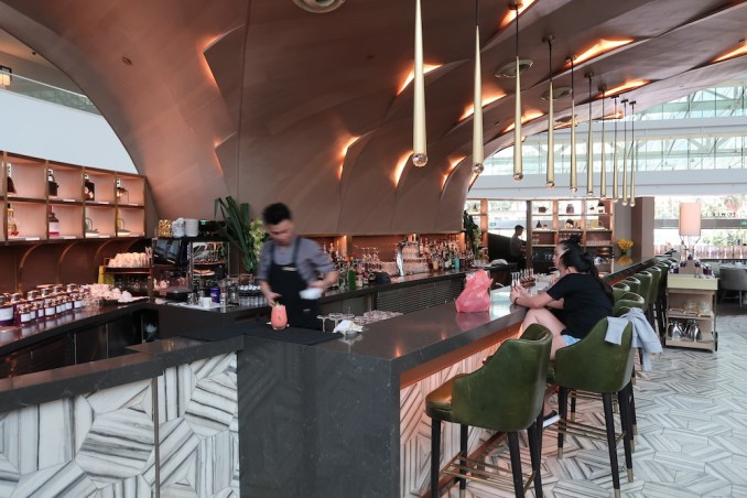 MARINA BAY SANDS: LOBBY - RENKU BAR & LOUNGE