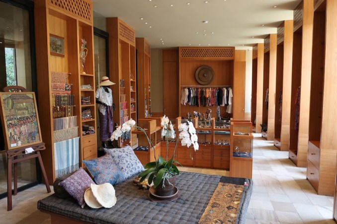 AMANJIWO: CENTRAL PAVILION - BOUTIQUE SHOP