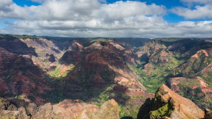 BE WOWED BY THE SPECTACULAR SCENERY OF THE WAIMEA CANYON