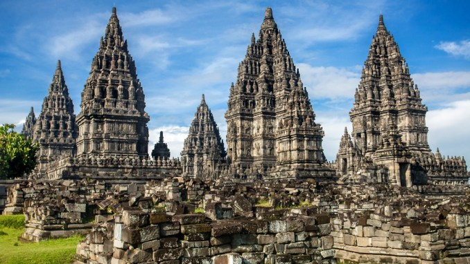 VISIT THE PRAMBANAN TEMPLE COMPLEX IN CENTRAL JAVA