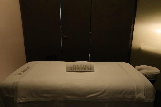 ARMANI HOTEL DUBAI: SPA - TREATMENT ROOM