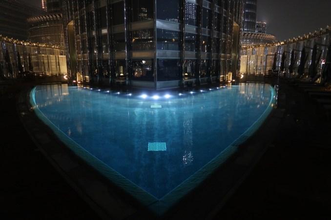 ARMANI HOTEL DUBAI AT NIGHT