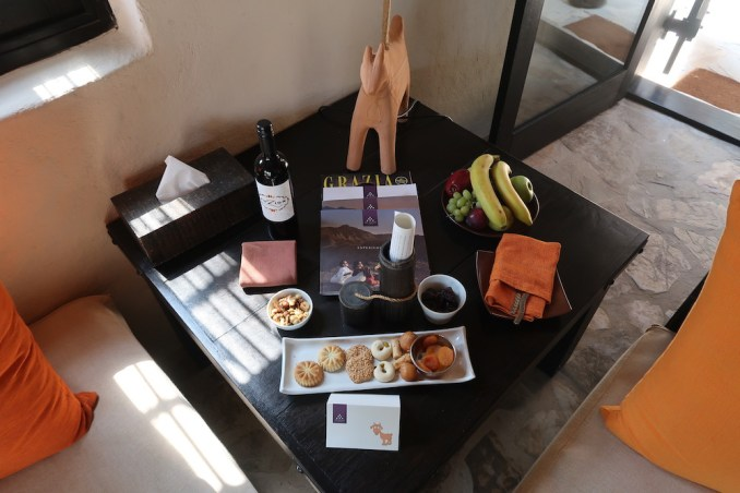 SIX SENSES ZIGHY BAY: SPA POOL VILLA - WELCOME AMENITIES