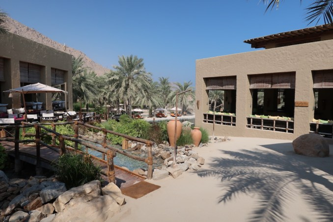 SIX SENSES ZIGHY BAY: CENTRAL PLAZA