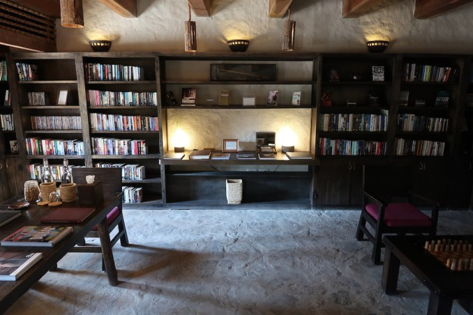 SIX SENSES ZIGHY BAY: LIBRARY