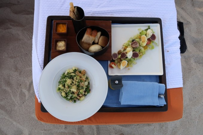 SIX SENSES ZIGHY BAY: MAIN BEACH CLUB (LUNCH)