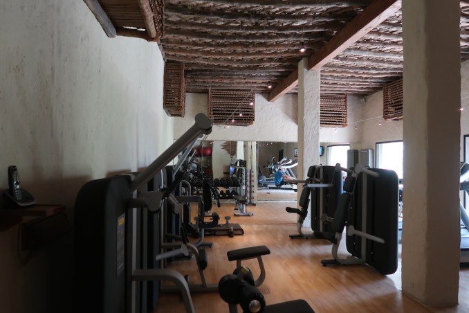 SIX SENSES ZIGHY BAY: SPA (GYM)