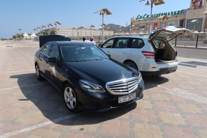 EMIRATES CHAUFFEUR SERVICE: PICK-UP