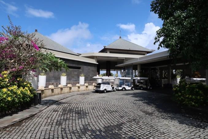 BANYAN TREE UNGASAN: HOTEL ENTRANCE