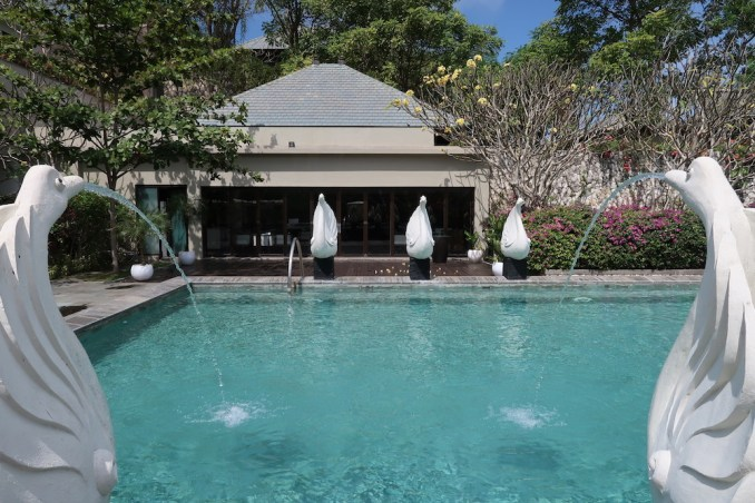BANYAN TREE UNGASAN: SPA - TRANQUILITY POOL