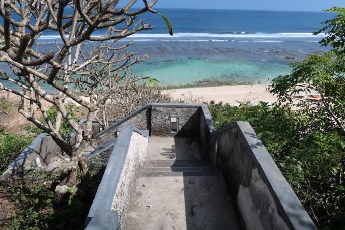 BANYAN TREE UNGASAN: PATH & STAIRS TO BEACH