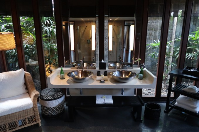 BULGARI BALI: OCEAN VIEW VILLA - BATHROOM
