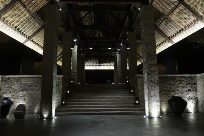 BULGARI BALI AT NIGHT