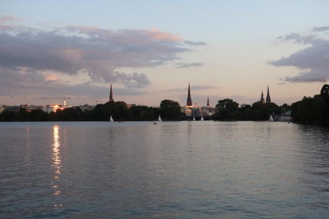 THE FONTENAY HAMBURG: ALSTER LAKE