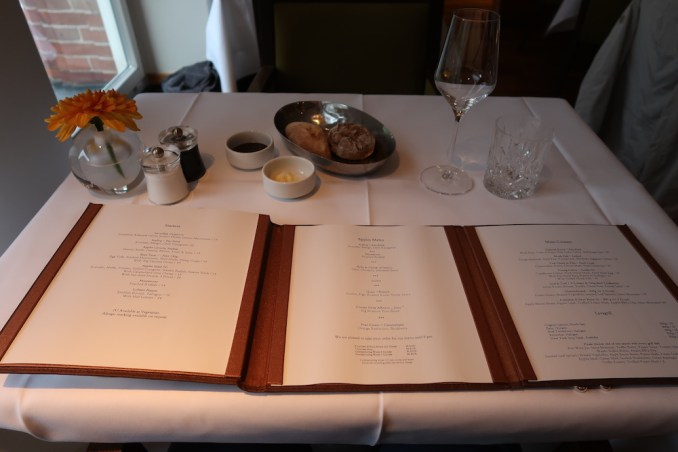 PARK HYATT HAMBURG: DINNER AT APPLES RESTAURANT